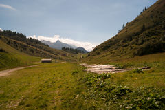 Mountain. Landscape of mountain alps in Italy Stock Photo