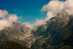 Mountain. Landscape of mountain alps in Italy Stock Image