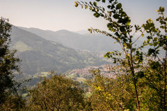 Mountain. Landscape of mountain alps in Italy Royalty Free Stock Images