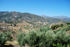 Mountain landscape, Andalusia. Royalty Free Stock Photo