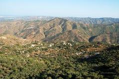 Mountain landscape, Andalusia. Stock Photos