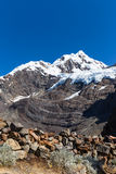 Mountain landscape in the Andes Royalty Free Stock Images