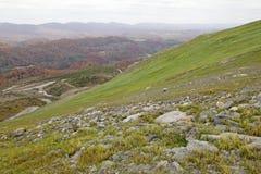 Mountain landscape, Appalachia. A mountain landscape in Appalachia royalty free stock image