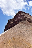 Mountain landscape. Aragats mountain landscape in Armenia Stock Photo