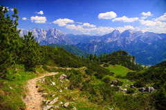 Mountain landscape, Austria Royalty Free Stock Photos