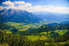 Mountain landscape, Austria Royalty Free Stock Images