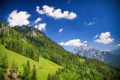 Mountain landscape, Austria Stock Images