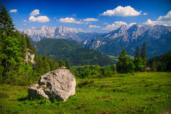 Mountain landscape, Austria Stock Image