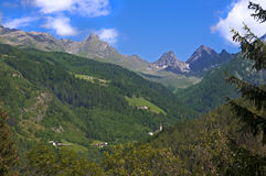 Mountain landscape in Austria Tirol Royalty Free Stock Photography