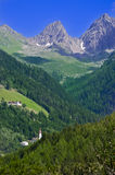 Mountain landscape in Austria Tirol Royalty Free Stock Image