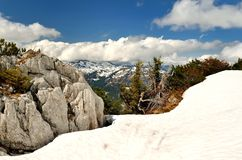 Mountain landscape in Austria. Royalty Free Stock Photography