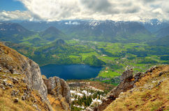 Mountain landscape in Austrian Alps. Royalty Free Stock Photography