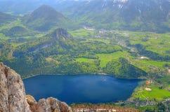 Mountain landscape in Austrian Alps. Royalty Free Stock Photos