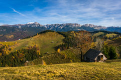 Mountain landscape in autumn Stock Images
