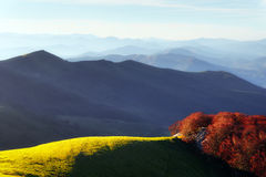 Mountain landscape in autumn Royalty Free Stock Image