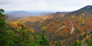 Mountain landscape, autumn, panorama Royalty Free Stock Images