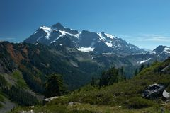 Mountain Landscape. Mountain Baker, Washington, United States Royalty Free Stock Photography