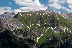 Mountain landscape in the Bavarian Alps. Germany Royalty Free Stock Images