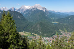 Mountain landscape in the Bavarian Alps. Germany Stock Images