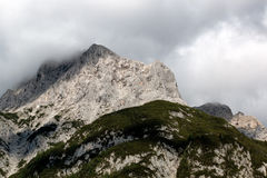 Mountain landscape in the Bavarian Alps. Germany Royalty Free Stock Photo