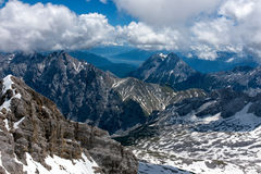 Mountain landscape in the Bavarian Alps. Germany Stock Photo
