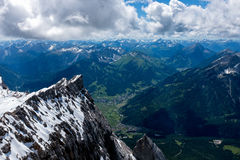 Mountain landscape in the Bavarian Alps. Germany Royalty Free Stock Photos