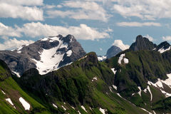 Mountain landscape in the Bavarian Alps. Germany Stock Photography