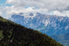 Mountain landscape in the Bavarian Alps. Germany Royalty Free Stock Image