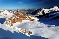 Mountain landscape in Berner Oberland Stock Images