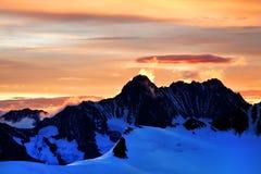 Mountain landscape in Berner Oberland Stock Images