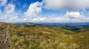 Mountain Landscape - Bieszczady, Poland Stock Photo