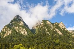 Mountain landscape in Bucegi ridge, Romania Stock Photography