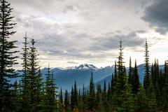 Mountain landscape in Canada Stock Photos