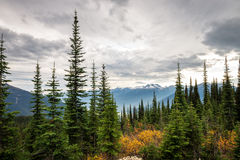 Mountain landscape in Canada Royalty Free Stock Image
