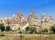 Mountain landscape, Cappadocia, Turkey Stock Photography