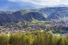 Mountain landscape in the Carpathians Stock Images