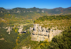 Mountain landscape in  Catalonia Royalty Free Stock Photo