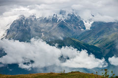 Mountain landscape of Caucasus Royalty Free Stock Photography