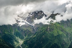 Mountain landscape of Caucasus Royalty Free Stock Photos