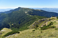 Mountain landscape. Ceahlau mountains, Eastern Carpathians, Roma. Mountain landscape. Ceahlau mountains, Eastern Carpathians in Romania Stock Images