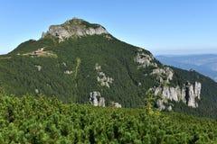 Mountain landscape. Ceahlau mountains, Eastern Carpathians, Roma Royalty Free Stock Photos