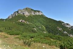 Mountain landscape. Ceahlau mountains, Eastern Carpathians, Roma Stock Photos