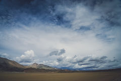 Mountain landscape of Central Tibet Stock Photos