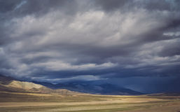 Mountain landscape of Central Tibet Stock Photography