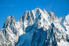 Mountain landscape. Chamonix France. Beautuful mountain landscape. Chamonix France Stock Images