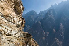 Mountain landscape of China Stock Images
