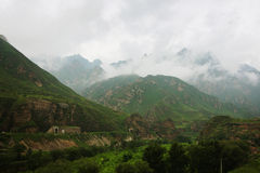 Mountain landscape in China Stock Image