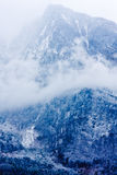 Mountain landscape with a clouds Stock Image