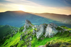 Mountain landscape Royalty Free Stock Image