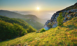 Mountain landscape. Royalty Free Stock Photo
